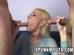 Picture Alexa Lynn takes loads to the face blowbang