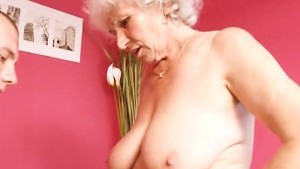Mature Granny Betty Fucks Youn