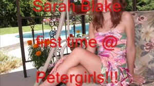 Sarah Blake 1st time @ Petergirls