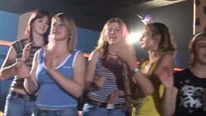 Fucking Girls in a night club