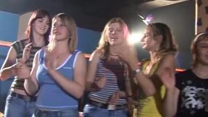 Fucking Girls in a night club
