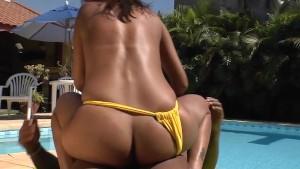 Cassia Moreno gets her brazilian twat healed