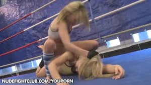 Catfight: Blue Angel vs. Sabrinka