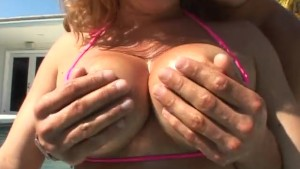 Allie Foster gets her busty se