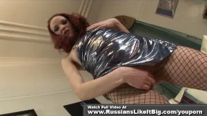 RED HEAD STUDENT SUCKING ON HUGE COCK 1of2