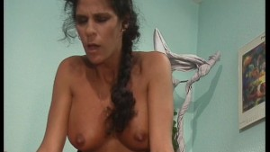 Babe goes riding on his cock