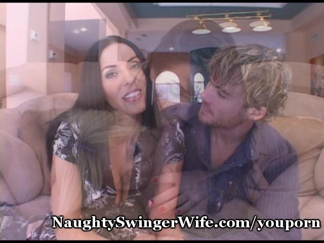 Swinger Wife Fucks Coed