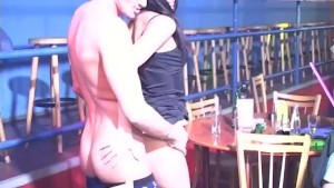 Male Stripper fucking a girl f