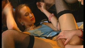 Kinky Blonde Fisted and Cummed On - DBM Video