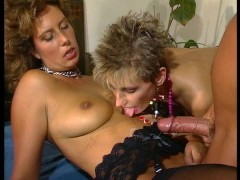 Milfs were enjoying the strap-on until they got dicks - DBM Video