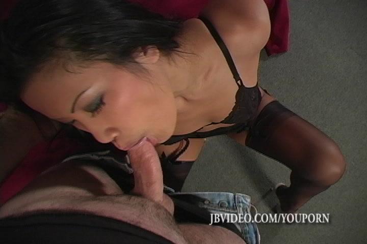 POV Stocking Sex with Asian Christina SSEX2