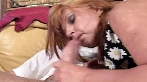 Redhead give great blowjobs an