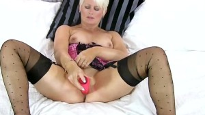 Blonde Cougar Sally Taylor Fu