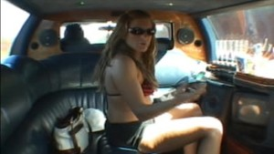 Jackie andd Jessica Limo creampie