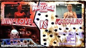 Catfight: Katalin vs. Lily Love