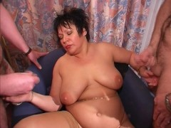 Bells and whistles hanging from her pussy  (CLIP)