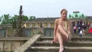 Lenja - Hot German Blonde Nude