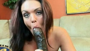Alyssa Dior opens wide for a r