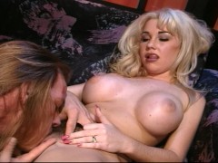 Rocker dude fucks big titty blonde