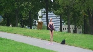 Lucie - Hot Public Nudity With