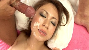 Horny Asians Face Covered In Cum - Pompie