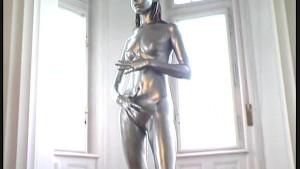 Pornstar Eva complete painted
