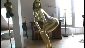 Golden bodypaint Detti