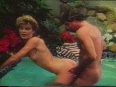 Harry Reems Stacy in the jacuzzi
