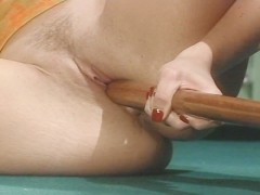 Horny pool player wants to fuck so bad