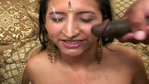 Indian princess showered in go