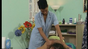 Massage turns into a blow job