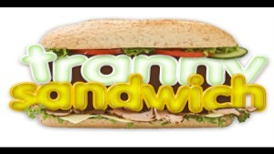 Guy Caught In Tranny Sandwich