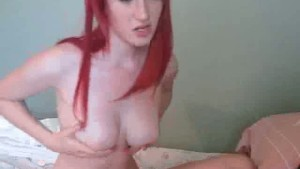 Hot Redhead Amateur Massages H