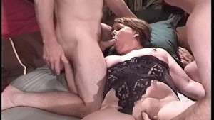 Patty's pussy gets fingered and fucked while she sucks cock  PT.2/2