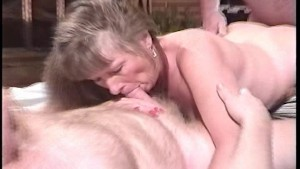 Greasing up the old pussy