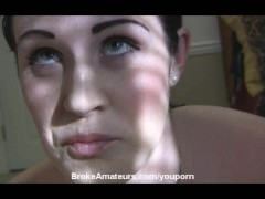 Amateur casting blow job video