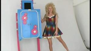 Magic trick with Katherina spl