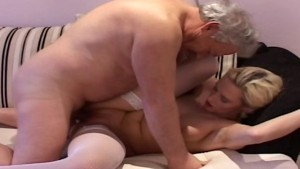 Blonde hot girl getting fucked