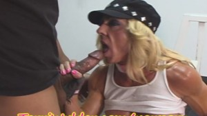 MILF Body Builder gets a HARD