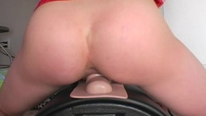 Sophie test drives her Sybian