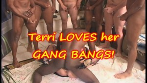 GANG BANG with TERRI WYLDER