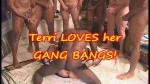 GANG BANG with TERRI WYLDER