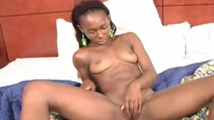 Slim Ebony Girl Fucked And Fac