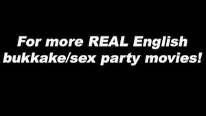 UK Bukkake with pornstar Hollly Kiss