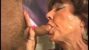MILF Swallows it ALL and wants