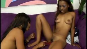 Ebony Hotties Fuck Each Other