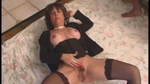 MILF swallows BBC LOADS