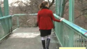 Pissing On a Bridge