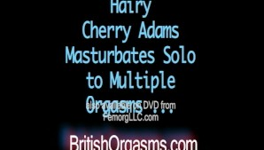 Hairy Cherry Adams Solo (and Wet!)