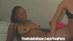 Ebony  Lesbo and Pawg p2